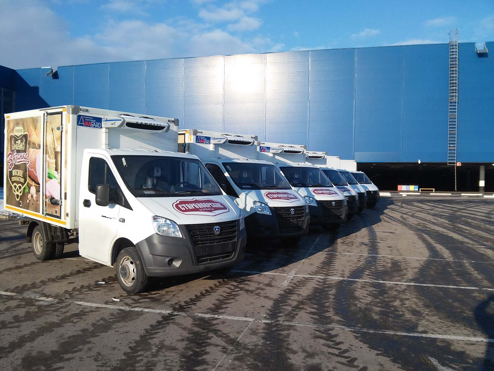 Высокотехнологические фургоны от «Авангарда»