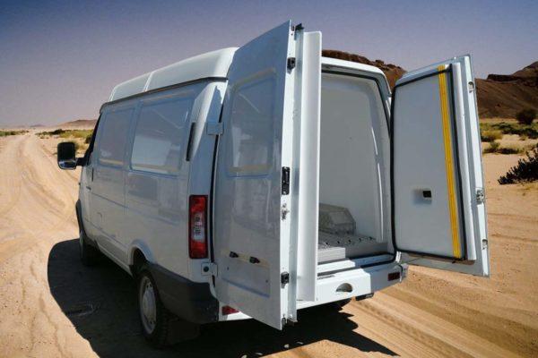 Утепление коммерческих фургонов «Соболь» (5)