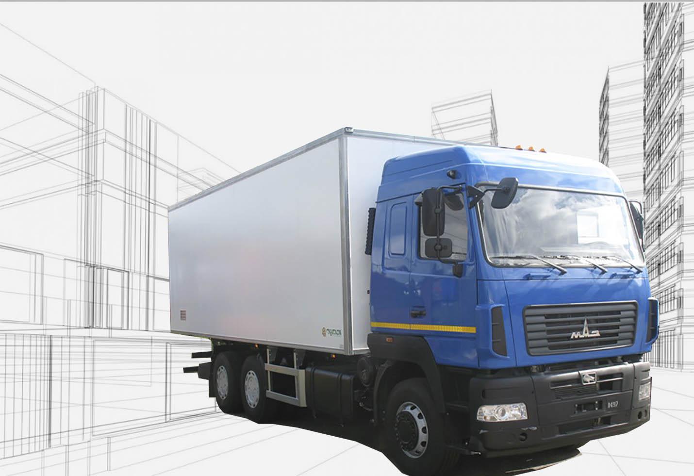 Классификация фургонов по типу кузовов